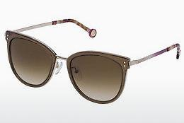 Ophthalmic Glasses Carolina Herrera SHE102 08FE - Brown