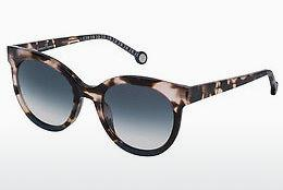 Ophthalmic Glasses Carolina Herrera SHE745 0AGK - Red, Havanna, Brown