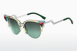 Ophthalmic Glasses Fendi FF 0041/N/S C1E/EQ - Yellow, Green