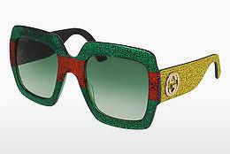 Ophthalmic Glasses Gucci GG0102S 006 - Green