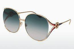 Ophthalmic Glasses Gucci GG0225S 004 - Gold