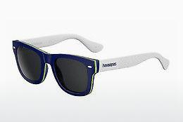 Ophthalmic Glasses Havaianas BRASIL/M 1RA/Y1 - Blue, White