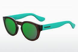 Ophthalmic Glasses Havaianas TRANCOSO/M R0R/Z9 - Brown, Blue, Green