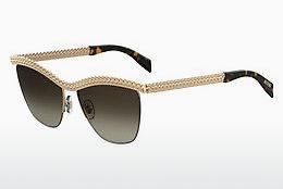 Ophthalmic Glasses Moschino MOS010/S 06J/HA - Gold, Brown, Havanna