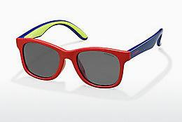 Ophthalmic Glasses Polaroid Kids PLD 8001/S T21/Y2 - Red