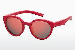 Ophthalmic Glasses Polaroid Kids PLD 8019/S/SM C9A/OZ - Red