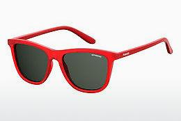 Ophthalmic Glasses Polaroid Kids PLD 8027/S C9A/M9 - Red