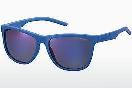 Polaroid Sonnenbrille Seasonal PLD 6014/S ZDI Blau Matt fEww4J