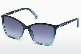 Ophthalmic Glasses Swarovski SK0148 90W - Blue, Shiny