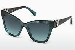 Ophthalmic Glasses Swarovski SK0157 87W - Blue, Turquoise, Shiny