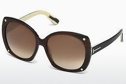 Ophthalmic Glasses Tom Ford Gabriella (FT0362 50F) - Brown