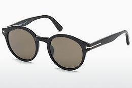 Ophthalmic Glasses Tom Ford Lucho (FT0400 01J) - Black, Shiny