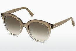 Ophthalmic Glasses Tom Ford Monica (FT0429 59B) - Horn, Beige, Brown