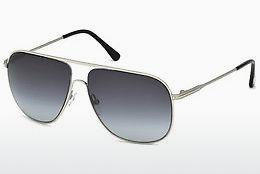 Ophthalmic Glasses Tom Ford Dominic (FT0451 16W) - Silver, Shiny, Grey