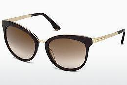 Ophthalmic Glasses Tom Ford Emma (FT0461 52G) - Brown, Dark, Havana