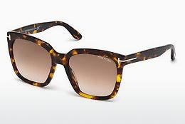 Ophthalmic Glasses Tom Ford Amarra (FT0502 52F) - Brown, Dark, Havana