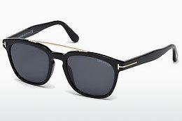 Ophthalmic Glasses Tom Ford Holt (FT0516 01A) - Black, Shiny