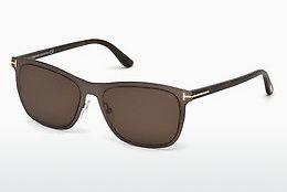 Ophthalmic Glasses Tom Ford Alasdhair (FT0526 48J) - Brown, Dark, Shiny