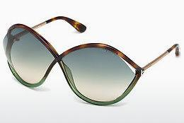 Ophthalmic Glasses Tom Ford Liora (FT0528 56W) - Havanna