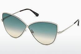 Ophthalmic Glasses Tom Ford FT0569 16W - Silver, Shiny, Grey