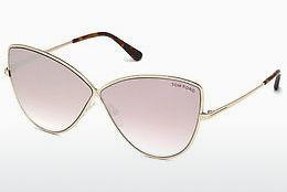 Ophthalmic Glasses Tom Ford FT0569 28Z - Gold
