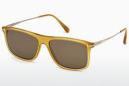 Ophthalmic Glasses Tom Ford FT0588 39J - Yellow, Shiny