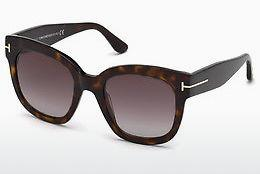 Ophthalmic Glasses Tom Ford FT0613 52T - Brown, Dark, Havana