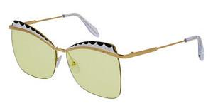 Alexander McQueen AM0059S 005 YELLOWGOLD