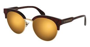 Alexander McQueen AM0066SK 003 GOLDRED