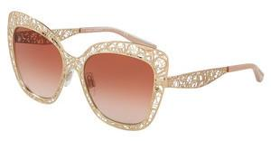 Dolce & Gabbana DG2164 129813 BROWN GRADIENTPINK GOLD