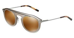 Dolce & Gabbana DG2169 04/6H BROWN MIRROR GOLDMIRROR PALE GOLD