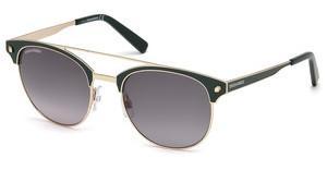 Dsquared2 Sonnenbrille » DQ0272«, blau, 90E - blau/braun