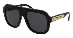 Stella McCartney SC0065S 004 SMOKEBLACK