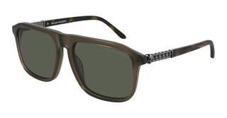 Alexander McQueen AM0321S 003 GREENBROWN