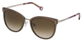 Carolina Herrera SHE102 08FE BROWN GRADIENTCAMMELLO TAN LUCIDO