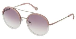Carolina Herrera SHE121 0S87 BROWN GRADIENTPALLADIO LUCIDO C/PARTI ROSA