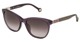 Carolina Herrera SHE691 0916 BROWN GRADIENT PINKVIOLA TRASPARENTE LUCIDO