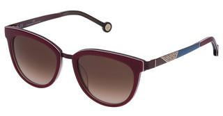 Carolina Herrera SHE748 0M31 BROWN GRADIENTBORDEAUX PIENO+MARRON TRASP.