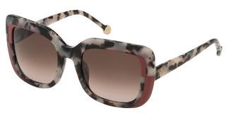 Carolina Herrera SHE786 09BB BROWN GRADIENT PINKAVANA NERO/BIANCO