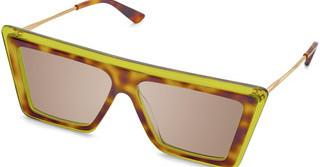 Christian Roth CRS-004 03 Brown WashTortoise-Green Clear
