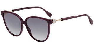 Fendi FF 0345/S 0T7/9O DARK GREY SFPLUM