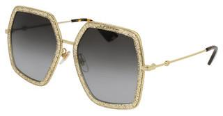 Gucci GG0106S 005 BROWNGOLD