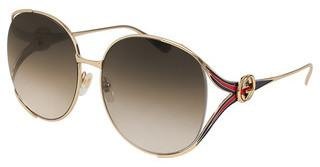 Gucci GG0225S 002 BROWNGOLD