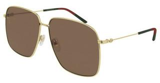 Gucci GG0394S 002 BROWNGOLD