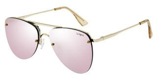 Le Specs THE PRINCE LSP1602139 PEACH REVO MIRRORGOLD / BLUSH