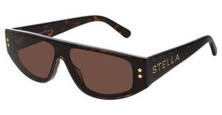 Stella McCartney SC0238S 002 BROWNHAVANA