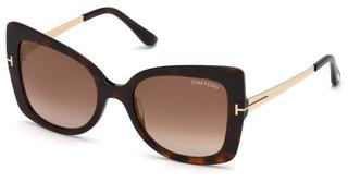 Tom Ford FT0609 52G braun verspiegelthavanna dunkel