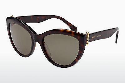 Ophthalmic Glasses Alexander McQueen AM0003S 002 - Brown, Havanna