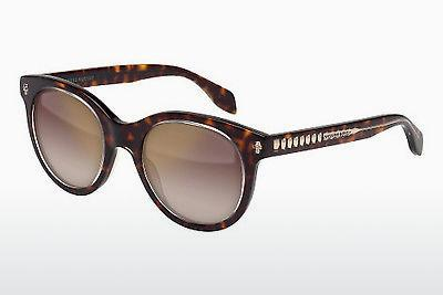 Ophthalmic Glasses Alexander McQueen AM0024S 002 - Brown, Havanna