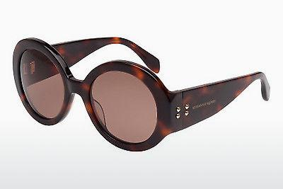 Ophthalmic Glasses Alexander McQueen AM0032S 002 - Brown, Havanna